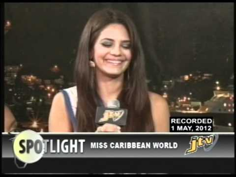 SPOTLIGHT   MISS CARIBBEAN WORLD 2012   PRT 2