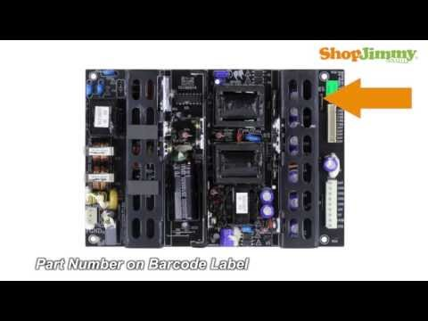 Polaroid LCD TV Repair Tips 860-AZ0-MLT666AMH Power Supply Unit (PSU) Boards Replacement Tutorial