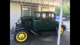 1931 Ford Model A Part 1 Fix Oil Leaks, ETC.
