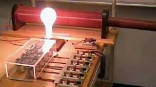 MIT Physics Demo -- Resonant RLC Circuit