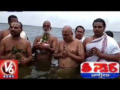 Chilukur Balaji Temple Priests Performs Varuna Yagam For Rains | Teenmaar News | V6 News
