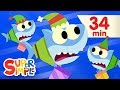 Santa Shark - Featuring Baby Shark | + More Kids Songs | Christmas Special