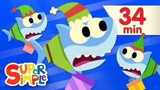 Santa Shark - Featuring Baby Shark | + More Kids Songs | Christmas Special