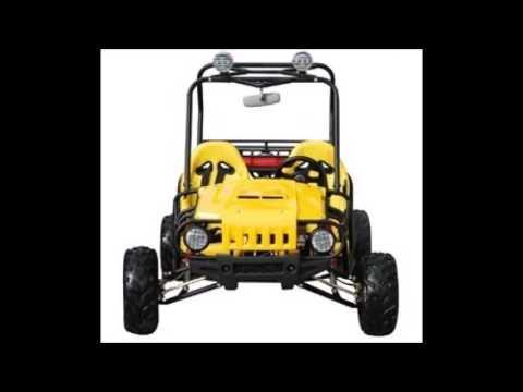 Tao Tao ATK – 125A 125cc Yellow Gas 4 Stroke Semi Auto Buggy Go Kart