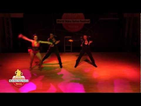 Johnny Vazquez, Jennifer Silvas & Francesco Panarello @ World Stars Salsa Festival Varna 2012
