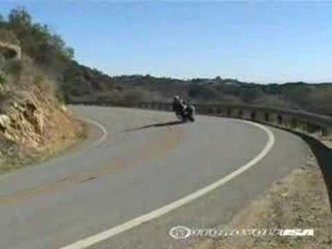 2008 BMW K1200GT - Sport Touring Motorcycle Review Video
