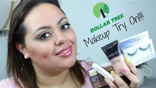 Dollar Tree Makeup TRY ON!!!! - The Good, The Bad and The Ugly