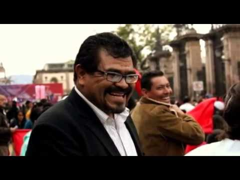 Antorcha Campesina: Festejan un año más de lucha en Morelia.