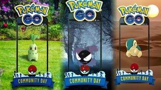 COMMUNITY DAY de SEPTIEMBRE, OCTUBRE & NOVIEMBRE ANUNCIADOS !! POSIBLES POKEMON !! - Pokemon Go