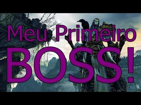 DarkSiders 2 - Meu primeiro BOSS