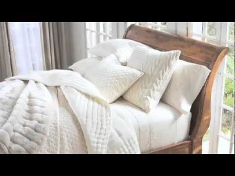 White Bedding Styling Tips By Steven Whitehead Pottery Barn Youtube