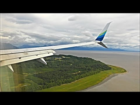 Alaska Airlines Boeing 737-990(ER) - Seattle to Anchorage *Full Flight*