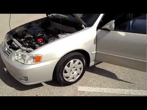 SOLD 2002 Toyota Corolla S Mint Meticulous Motors Florida For Sale