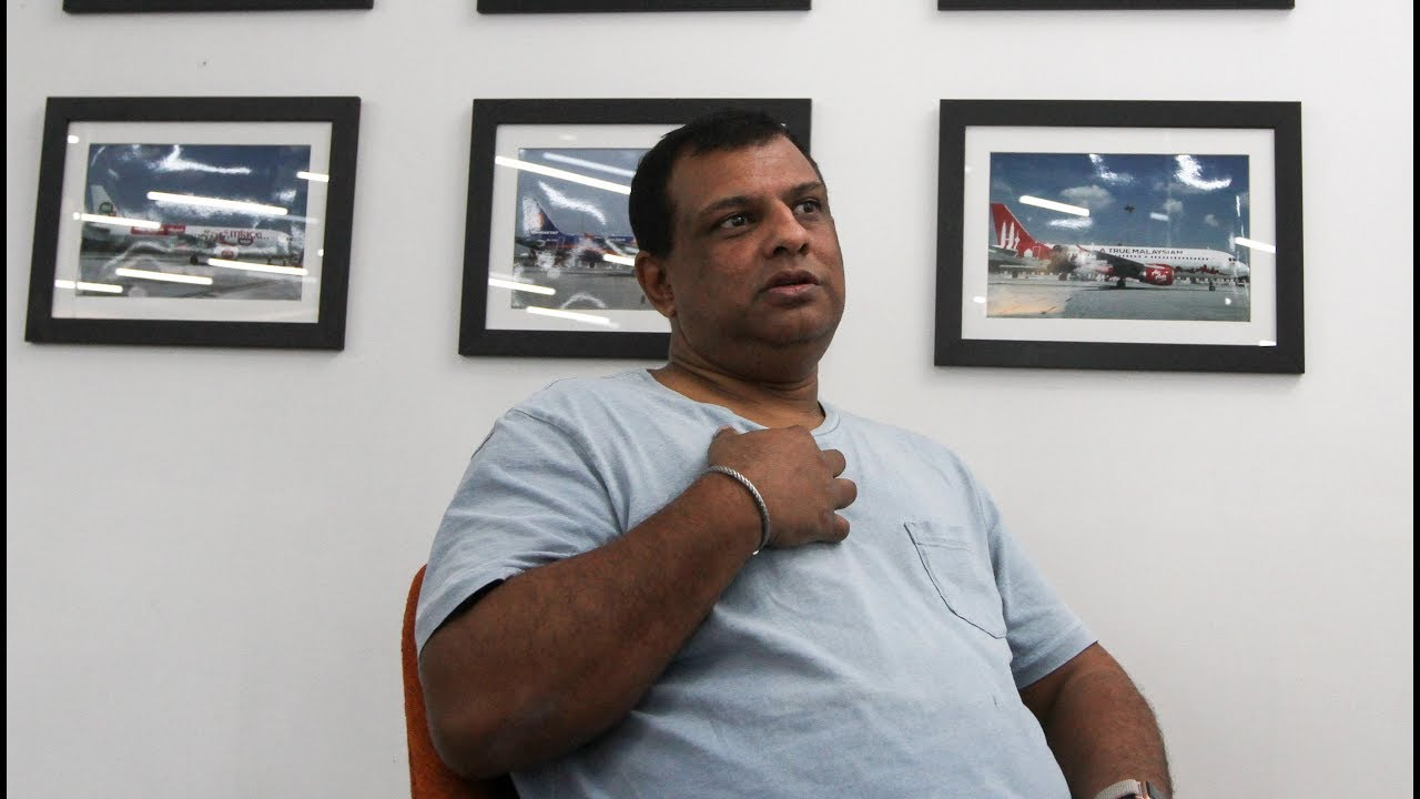 Frank talk with Tony Fernandes
