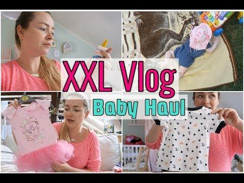 xxl Baby Haul | unsere Baby Medikamente | Emilia planscht im Garten