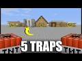 How to Make 5 Traps in Minecraft