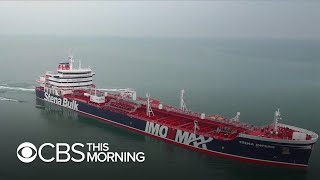 """Britain warns Iran of """"serious consequences"""" if it doesn't release seized tanker"""