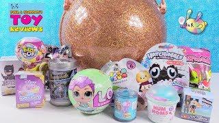 LOL Surprise Big Ball Blind Bag Toy Opening Disney Shopkins Hatchimals   PSToyReviews