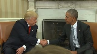 Trump, Obama Meet at The White House: Full Press Conference