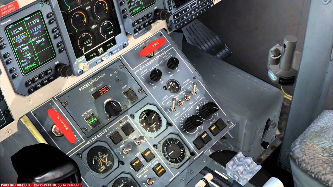 Jetstream 4100 Engine Start Fsx Youtube