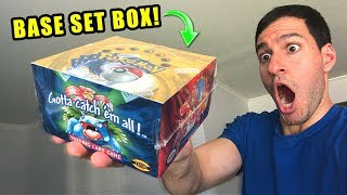 *VINTAGE POKEMON CARDS!* Opening BASE SET Booster Box Searching For CHARIZARD!