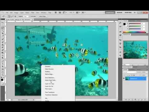 Content Aware Fill new function in Adobe Photoshop CS5