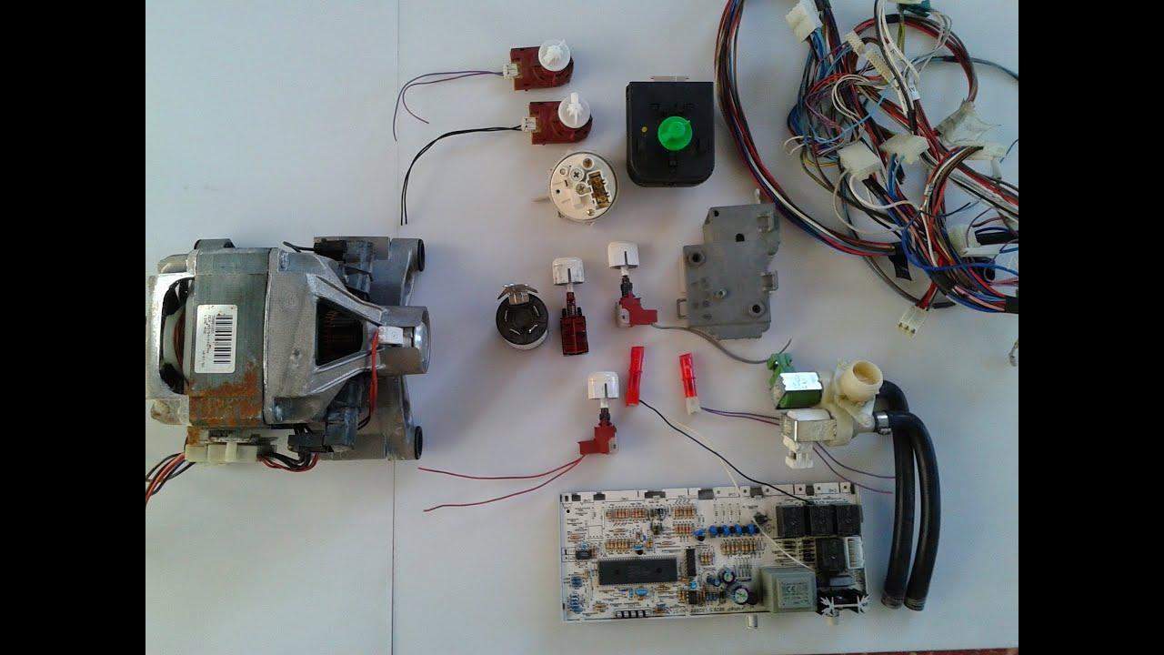 Как сделать регулятор оборотов на двигатель от стиральной машины