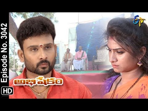 Abhishekam | 16th October 2018 | Full Episode No 3042 | ETV Telugu