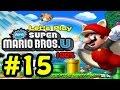 Let's Play New Super Mario Bros U 100% #15 - Terminando tudo no Penhasco!