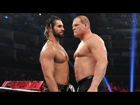 Kane vs. Seth Rollins: Raw, April 13, 2015