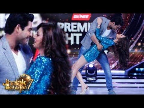 Drashti Dhami's ROMANTIC & SEXY DANCE in Jhalak Dikhla Jaa 7 7th June 2014 Grand Premiere | موفيزهوس منوعات