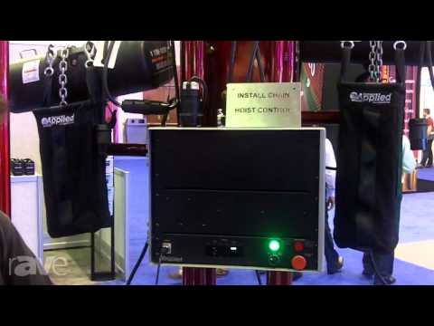 InfoComm 2013: Applied Electronics Explains Install Chain Hoist Control