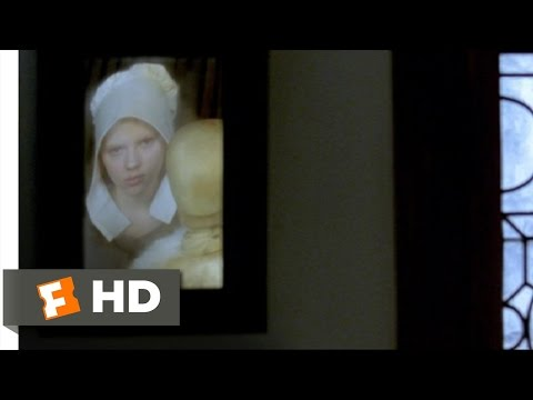 Girl with a Pearl Earring (1/12) Movie CLIP - In Front of His Paintings (2003) HD