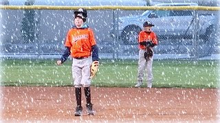 ⚾️BOYS BASEBALL GAME IN A BLIZZARD!❄️