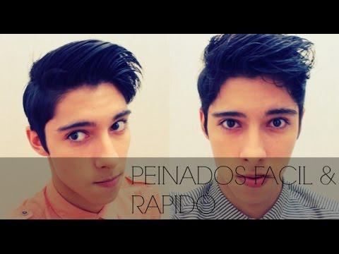 2 Peinados para hombre FACIL & RAPIDO