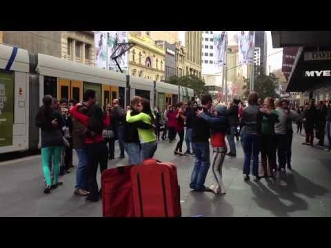Australia's 1st Kizomba Flash Mob: Melbourne