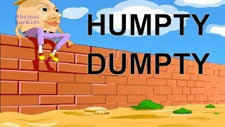 Humpty Dumpty Latest Funny Nursery Rhyme Kids Videos 3D Animation English Rhymes for Children