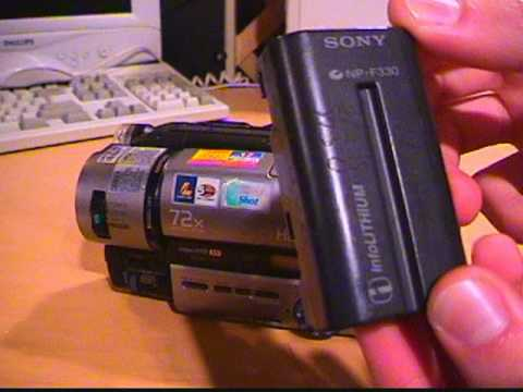 Sony CCD-TR940 Hi8 XR stereo camcorder full overview & demo