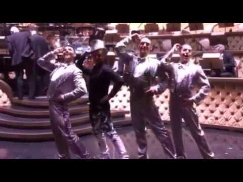 """Performing with the Cast of """"ShowStoppers"""" in Las Vegas!"""