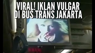 Viral! Iklan Vulgar di Bus, Dishub Imbau TransJakarta Periksa Konten Sebelum Dioperasikan