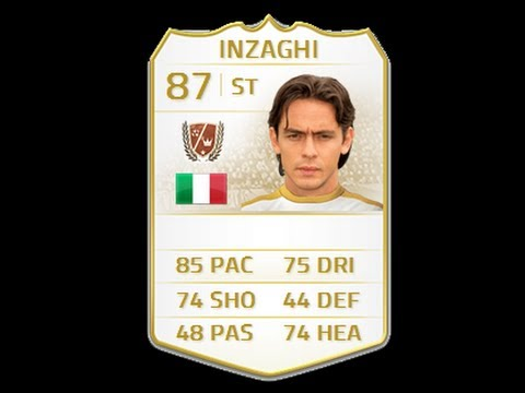 FIFA 14 NEXT GEN LEGEND INZAGHI 87 Player Review & In Game Stats Ultimate Team