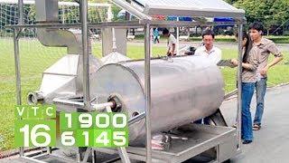 Nông dân học hết lớp 5 sáng chế máy sấy cà phê | VTC16