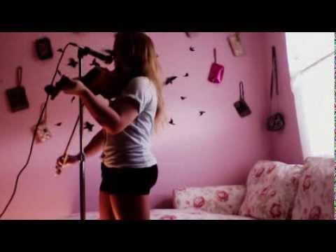 SINGING & PLAYING VIOLIN AT SAME TIME - JAR OF HEARTS