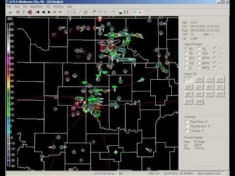 Oklahoma Spotter Network May 10, 2010