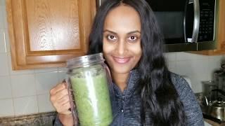 ከመይ ገርና ብ ኣሕምልትን ፍረታትን  ንጥቀመሉ| Green Juice & Smoothie Recipe  English & Eritrean Tigrigna