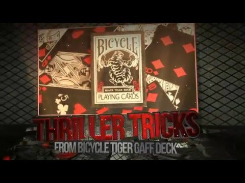 Thriller Tricks: Tiger Gaff Deck (Best Of Card Magic)..