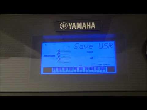 YAMAHA PSR E433 USING PENDRIVE AND RECORDING MUSIC