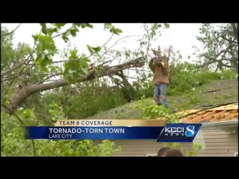 Update on tornado damage in Lake City