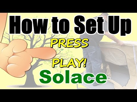 How to Set Up Solace - A Pull behind Motorcycle Camper Trailer