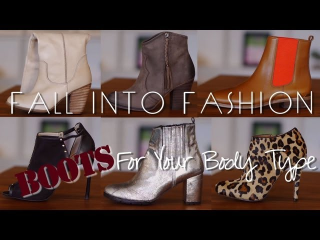 FALL INTO FASHION - Styling Your Fall Boots